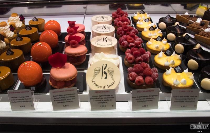 Les Halles Lyon słodkości