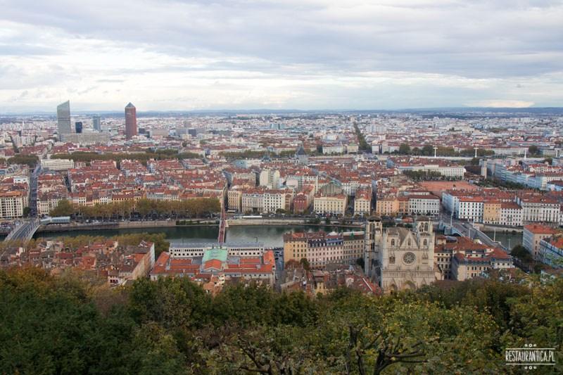 Lyon widok z góry
