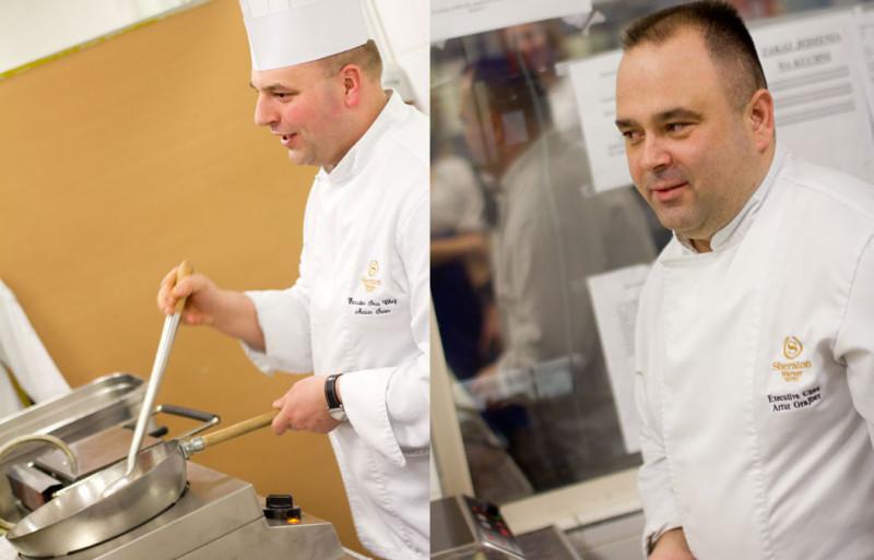 Szpieg w kuchni czyli warsztaty gotowania w hotelu Sheraton