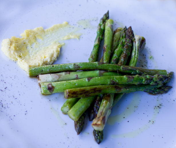 Szparagi w Bagno Food & Wine