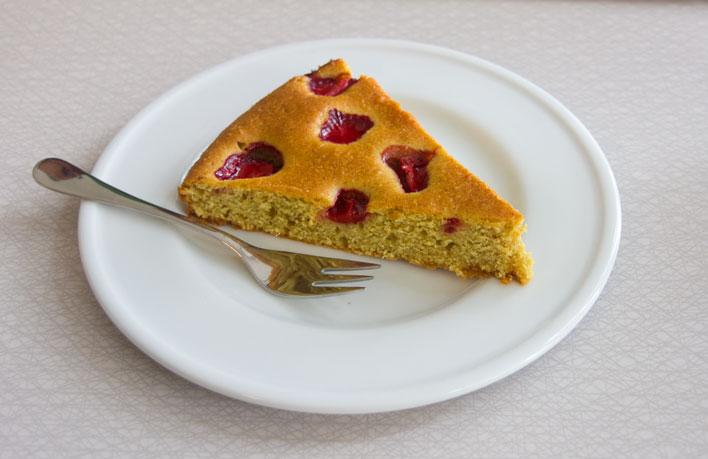 Kawiarnia Fawory ciasto truskawkowe