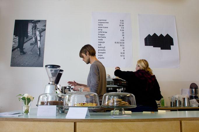 Kawiarnia Fawory Żoliborz Bar
