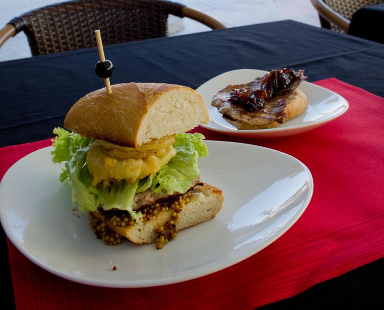 Pico Cuadro burger