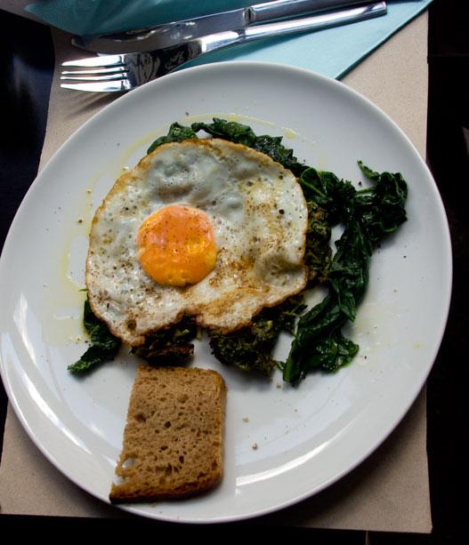 Czarna Bar śniadanie
