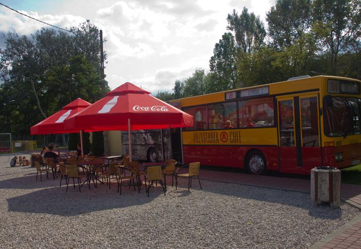 Przystanek Cafe – kawiarnia w autobusie