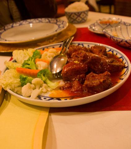Suparom Thai Food żeberka