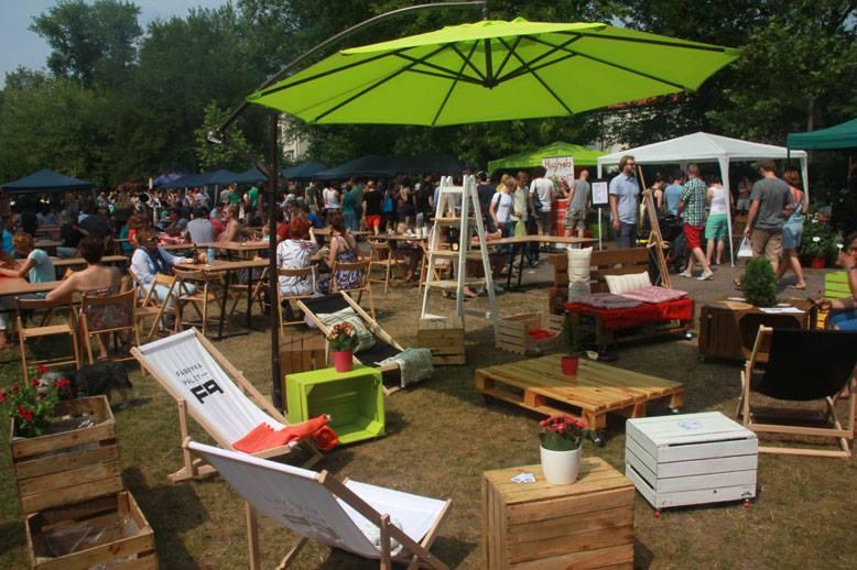 14 miejsc na lato w Warszawie