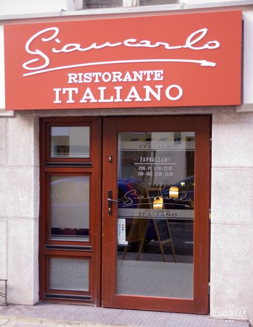 Giancarlo RIstorante Italiano wnętrze
