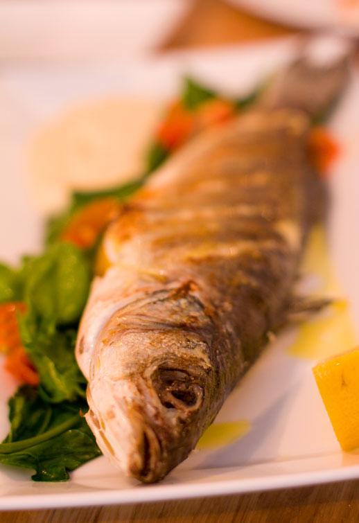 Videlec restauracja okoń morski