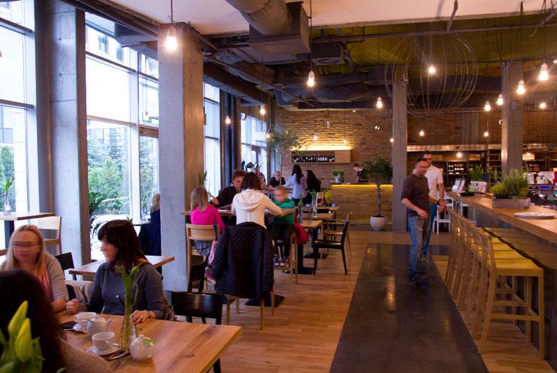 Videlec restauracja wnętrze