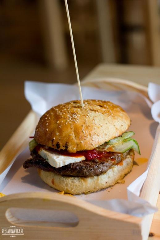 Wół na Stół burger Chutney