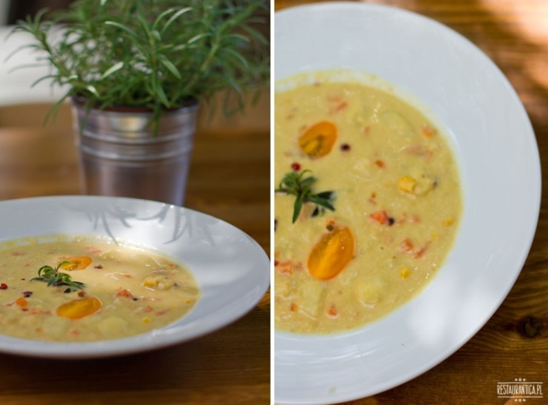 A nuż  Widelec chowder