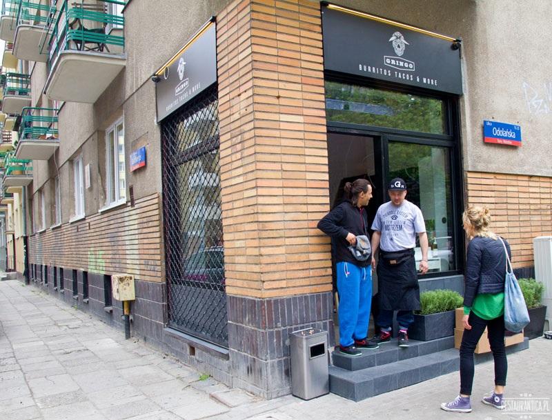 Gringo Bar z zewnątrz