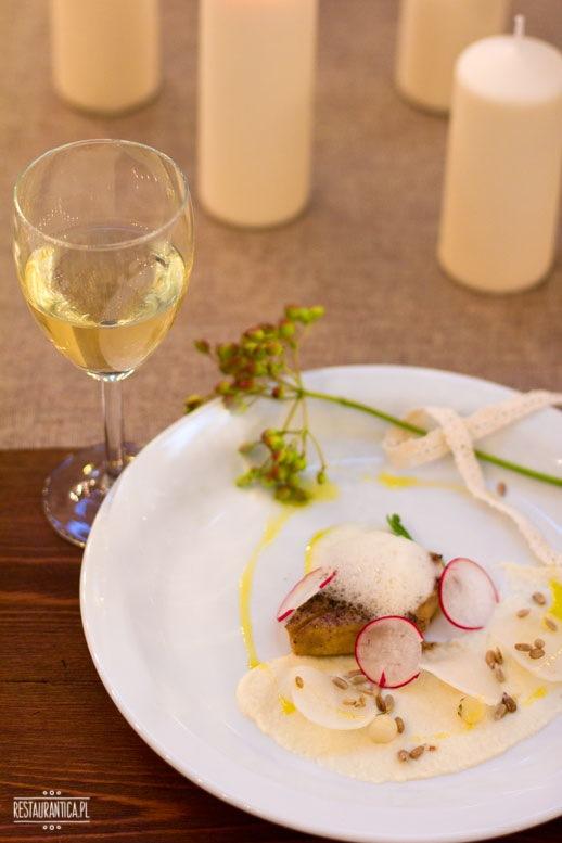Top chef kolacja foie gras