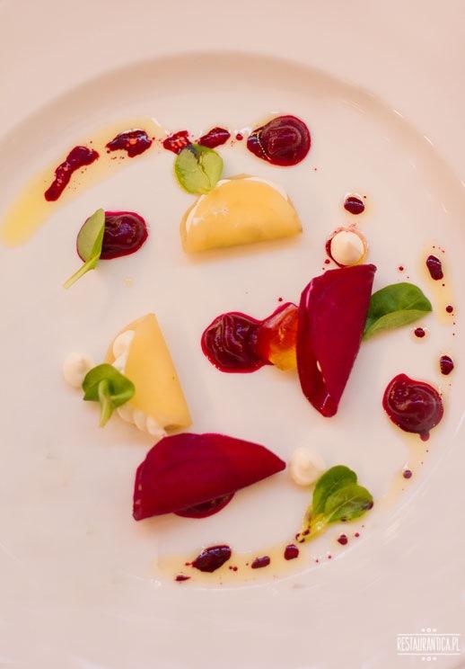 Top Chef kolacja burak z kozim serem