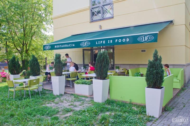 Lif restauracja widok z zewnątrz