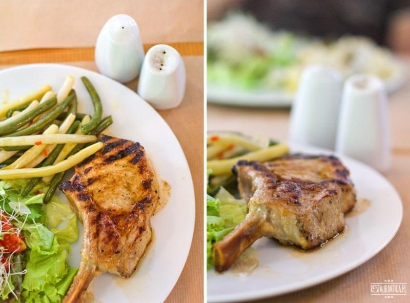 Restauracja Lif stek wieprzowy