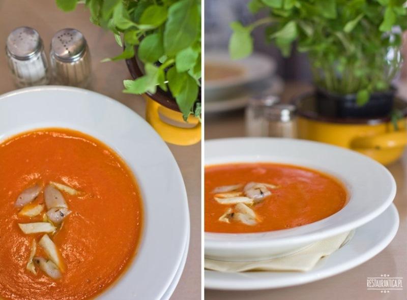 Gar Jakubiaka zupa z kiszonych pomidorów