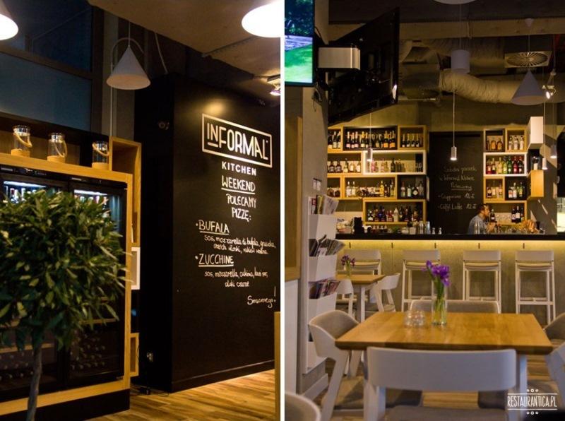 Informal Kitchen bar