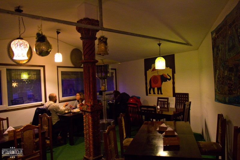 Curry House wnętrze