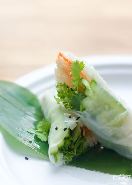Enoki street food spring rolls