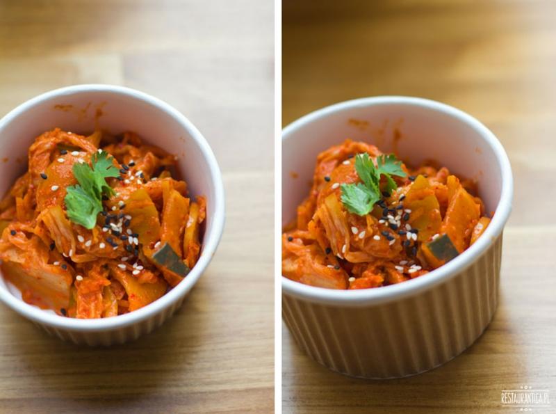 Enoki street food kimchi
