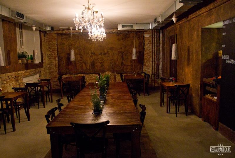 Soul Kitchen Bistro wnętrze