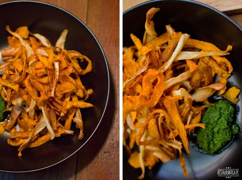 Soul Kitchen Bistro chipsy warzywne
