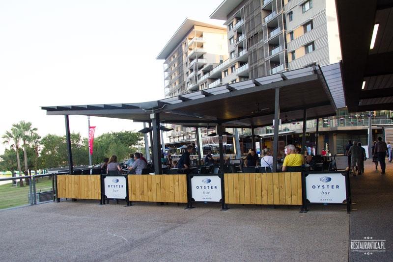 Oyster Bar Darwin garden
