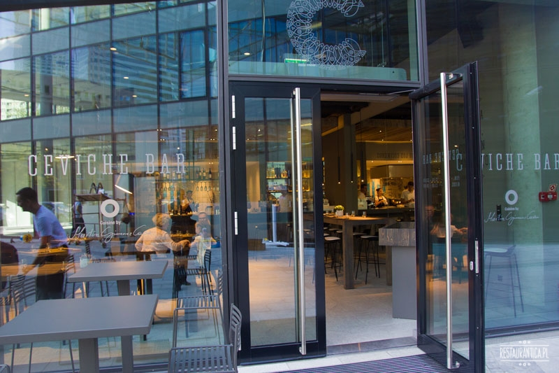 Ceviche Bar z zewnątrz