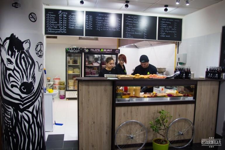 Falafel Bejrut Nowolipki – wegetariański orient