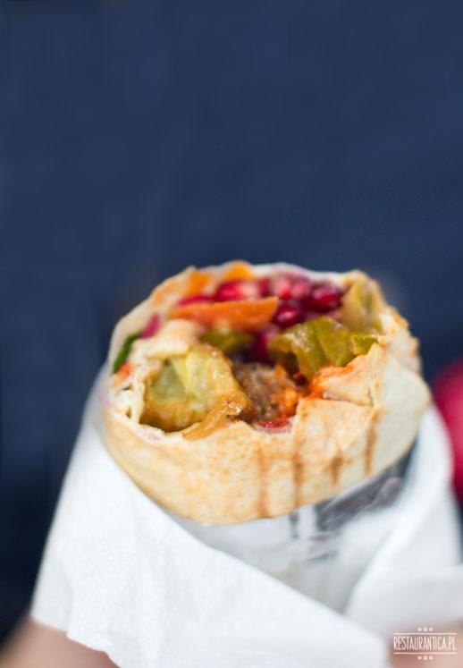 Falafel Bejrut Nowolipki kanapka