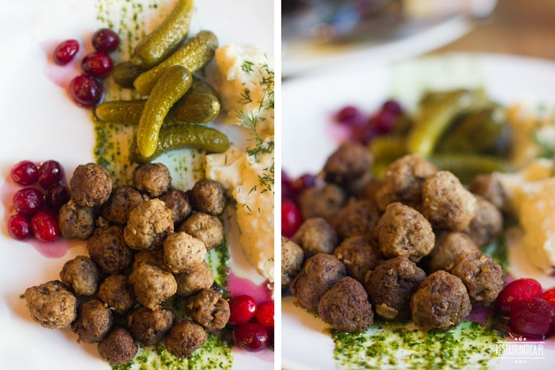 Stockholm Bar Canteen szwedzkie kulki mięsne