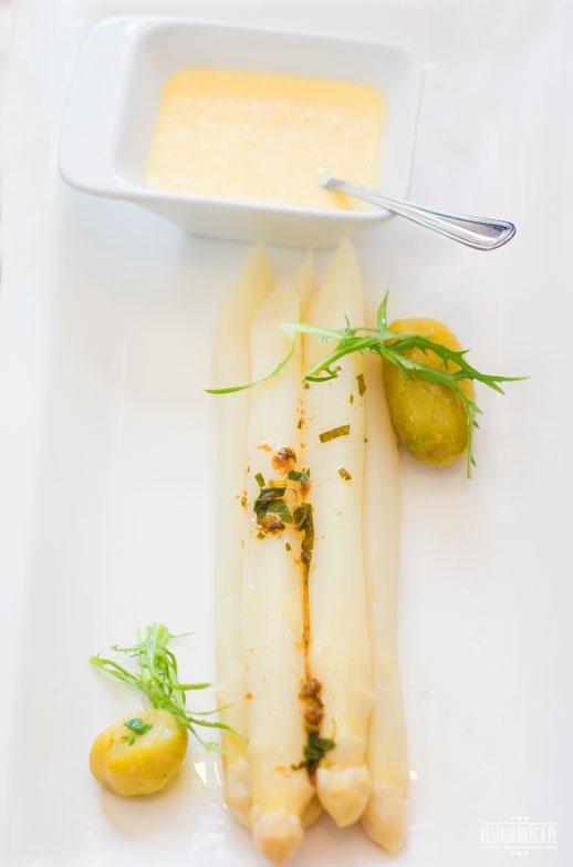 Bock Bisztro, szparagi, Budapeszt, restauracja