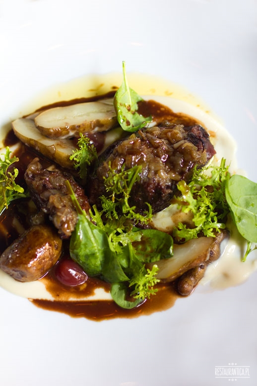 Manoush, policzki wołowe, Jasna, restauracja
