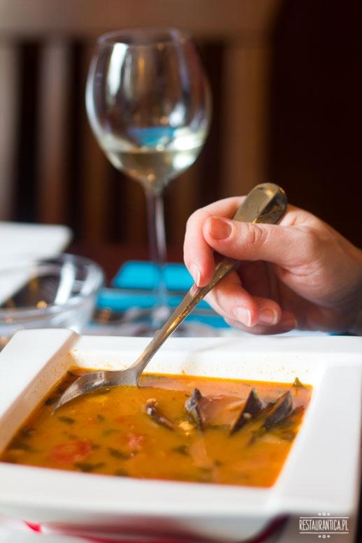 Papalina, zupa istryjska, Kuchenne rewolucje, restauracja, Ursynów