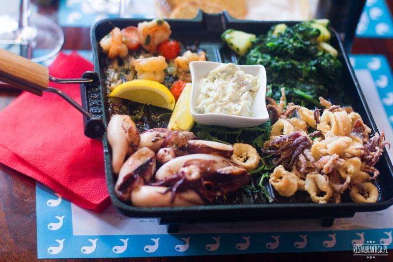 Papalina, owoce morza, kuchenne rewolucje, ursynów, restauracja