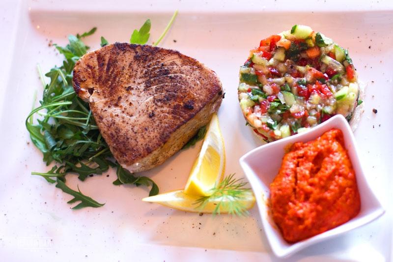 Papalina tuńczyk, restauracja, Ursynów, owoce morza