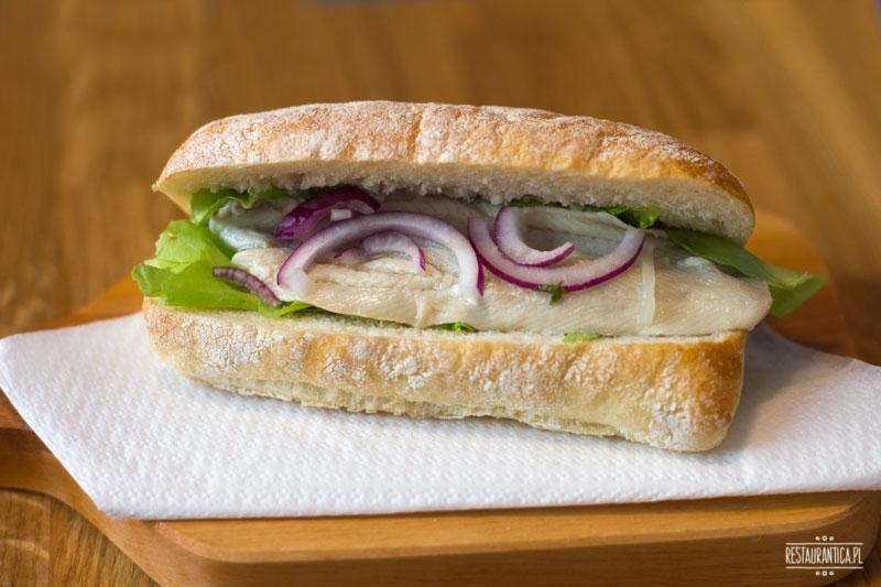 Bez Ości kanapka Hamburg