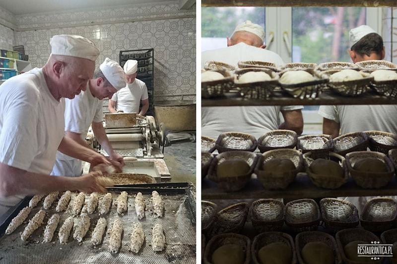 Piekarnia Piwoński, robienia chleba