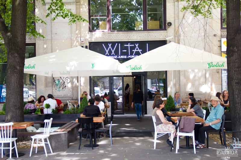 Wi-taj, plac Konstytucji, restauracja wietnamska, tajska, ogródek letni