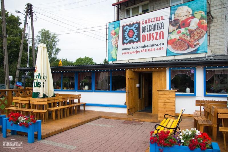 Bałkańska dusza, kuchnia bałkańska, Zacisze, Kanałowa, restauracja, z zewnątrz