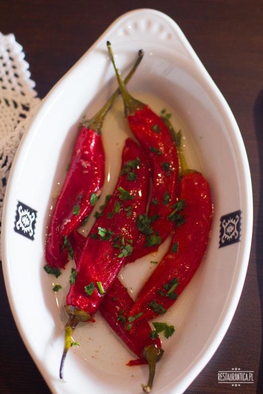 Bałkańska Dusza, papryka chilli, kuchnia bałkańska, Zacisze, Kanałowa