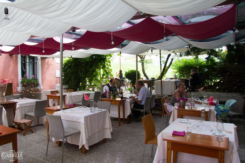 Hisa Franko ogród, Słowenia, garden, restaurant