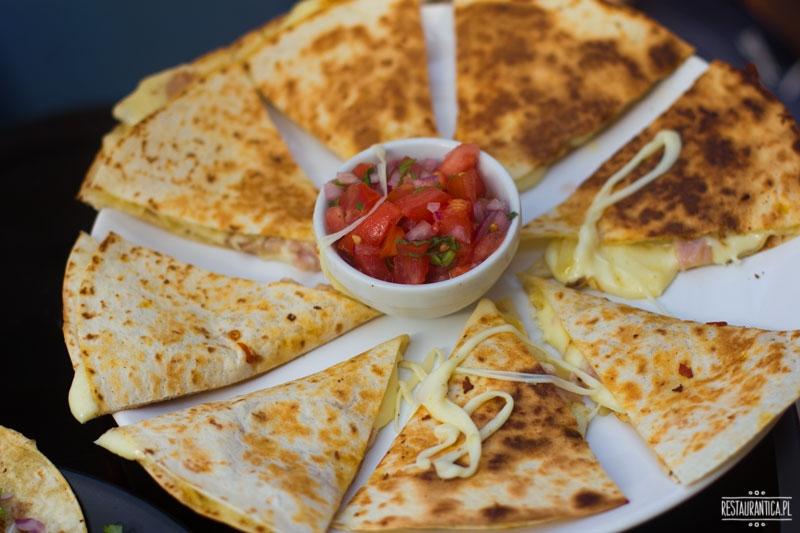 Maria Kolendra, quesadilla, kuchnia hiszpańska