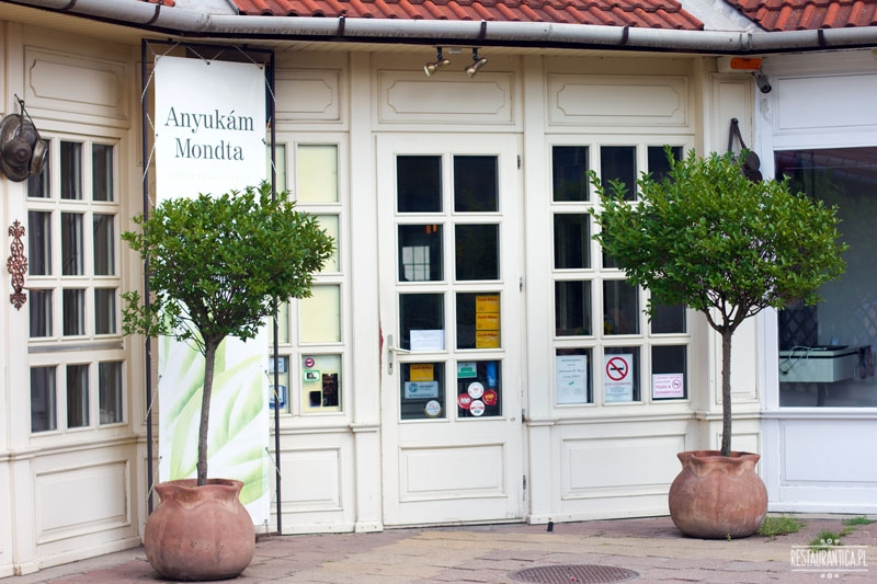 Anyukam Monda, Encs, Węgry, restauracja, Tokaj