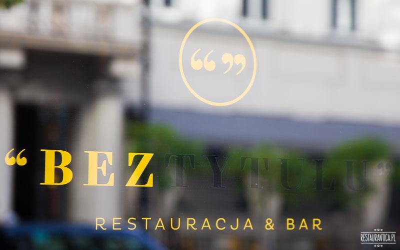 Bez tytułu, Poznańska, Warszawa, restauracja