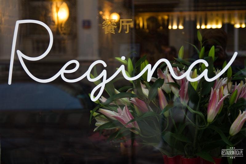 Regina Bar, Koszykowa 1, logo