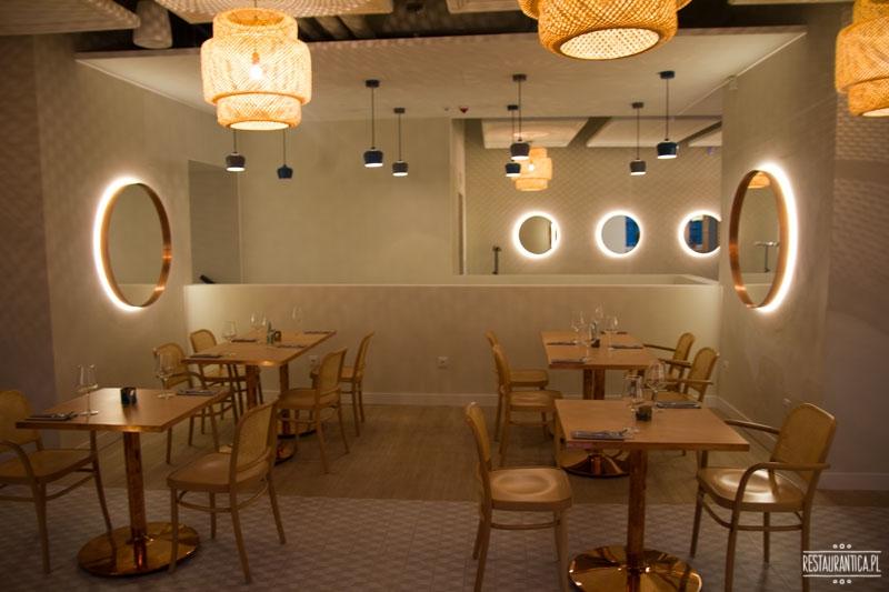 Florentin, Smolna, restauracja, wnętrze, lustra