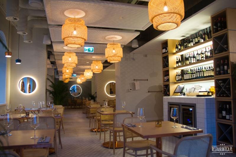 Florentin Warszawa wnętrze, restauracja